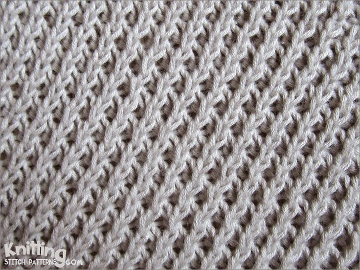 Knitting Stitches Patterns Easy : 25+ best ideas about Knitting Stitch Patterns on Pinterest Knit stitches, K...