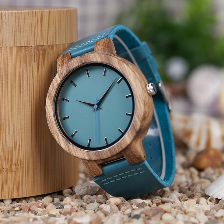 BOBO BIRD Bamboo Blue Ladies Watch - The Ultimate Niche