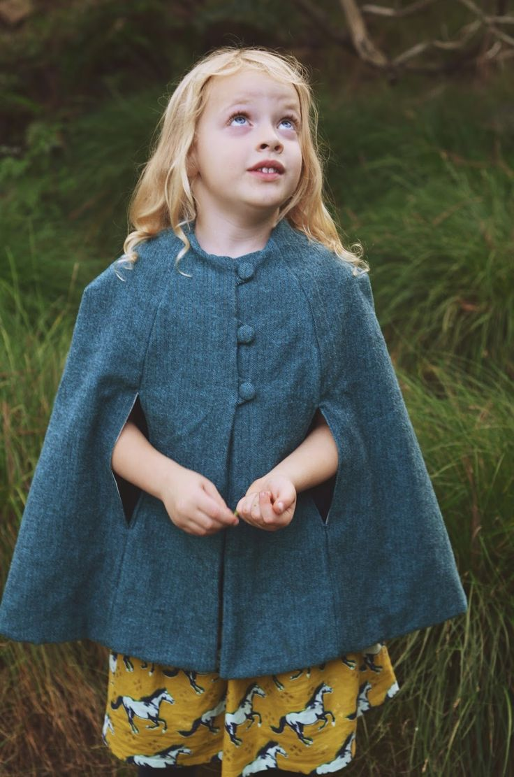Modern Handmade: Shetland Flannel Vintage Cape