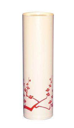 Red Sakura White Long Can