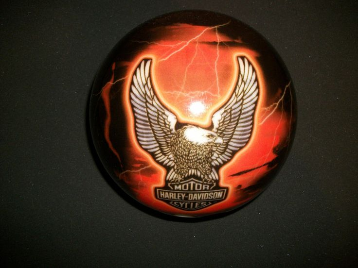 Harley Davidson Traditional Bowling Ball 2009 Brunswick