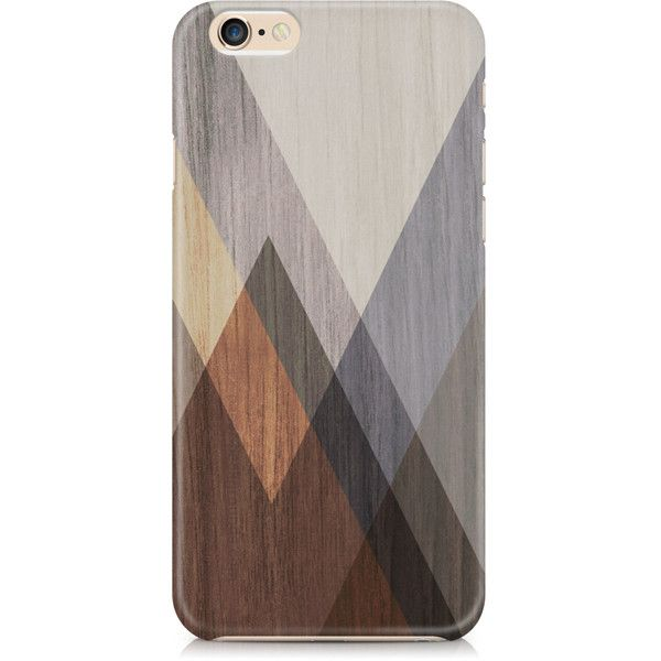 Wood Grain Blue Grey Brown cell phone case, Mens oak, Masculine,... (€21) ❤ liked on Polyvore featuring men's fashion, men's accessories and men's tech accessories