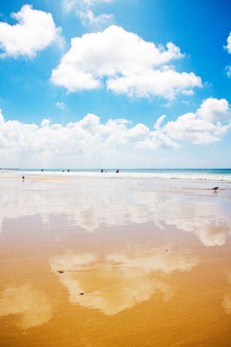 Port Elizabeth's beach in South Africa.