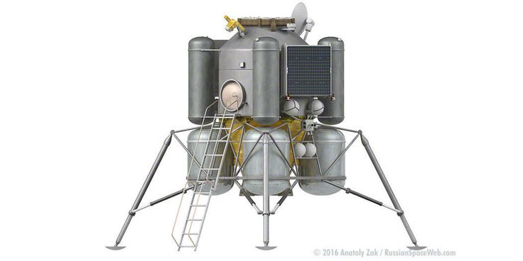 Revealed: Russia's Crewed Lunar Lander