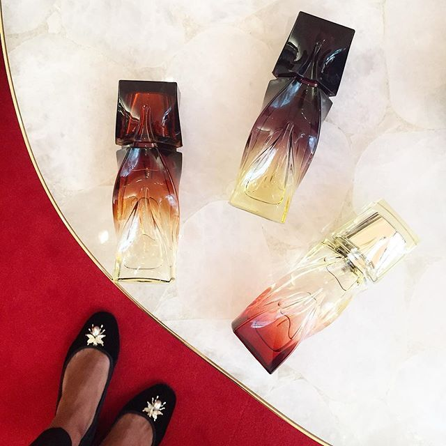 @louboutinworld just launched their new line of fragrances in 30ml! ❤️ I can't wait to tell you all about it... #WhoIsShe #LouboutinBeaute
