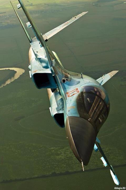 ♂ Aircraft Su-34