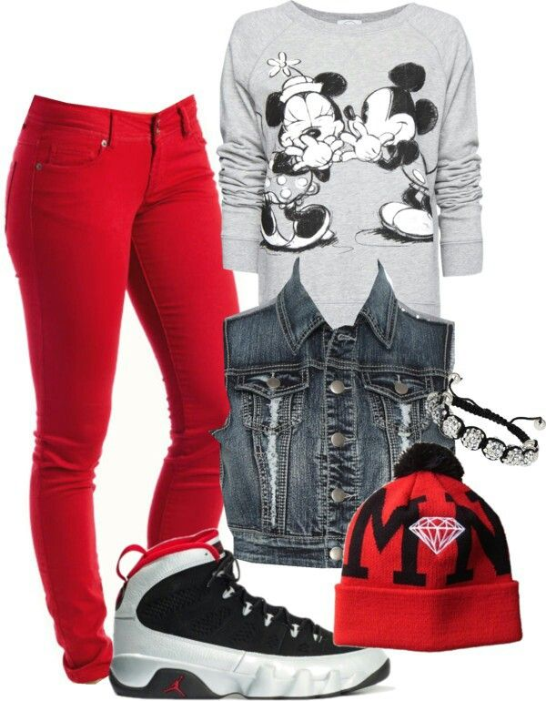 Mickey Mouse swag outfit