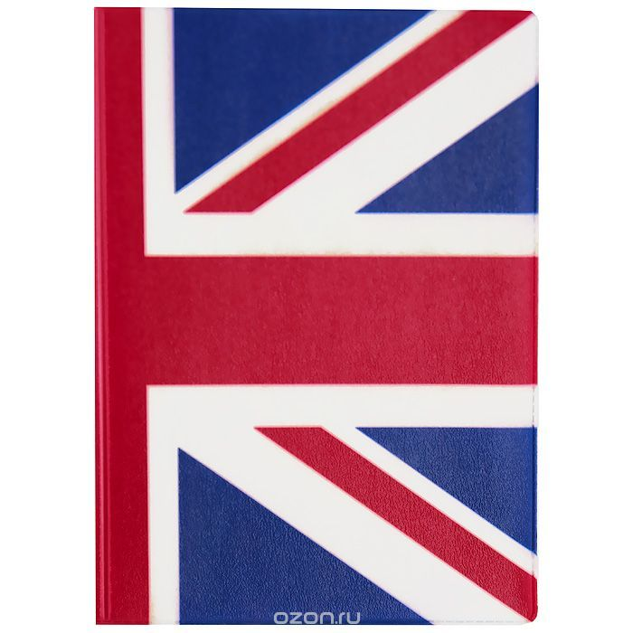 Обложка для паспорта Флаг Великобритании. OZAM33