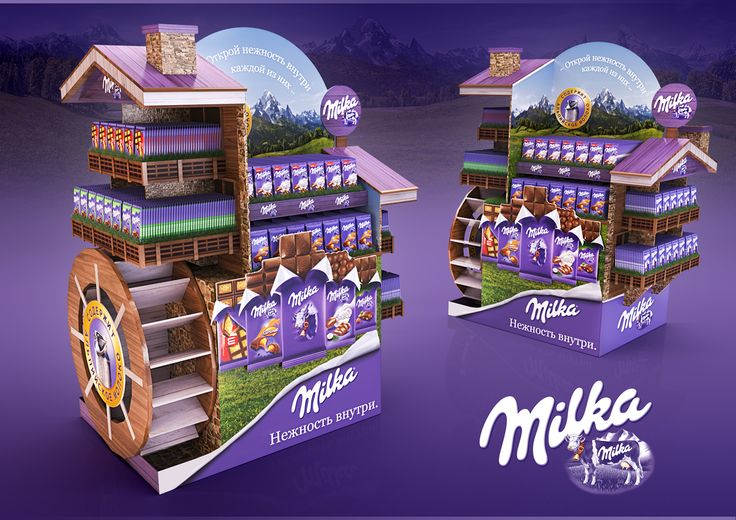 DISPLAY MILKA on Behance