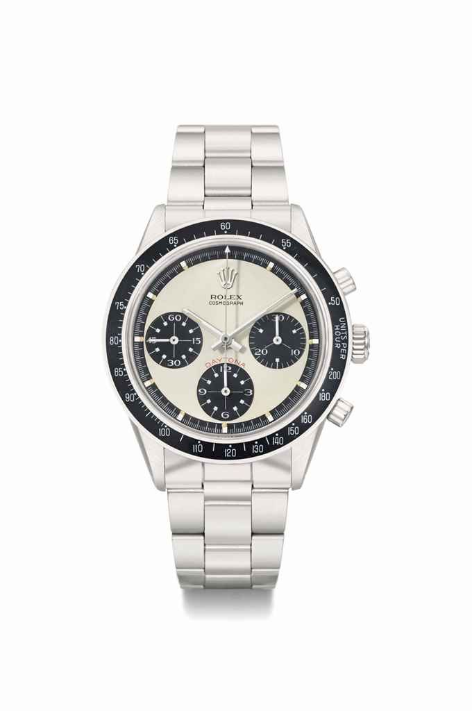 Rolex. A highly rare and attractive stainless steel chronograph wristwatch with bracelet and box, circa 1969 #ChristiesWatches