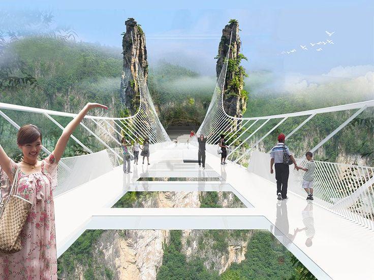 """Em julho, o Parque Nacional de Zhangjiajie, na China, vai ganhar a maior ponte de vidro do mundo. A obra vai dar um tom futurístico ao cenário que inspirou James Cameron no filme """"Avatar"""". A ponte foi erguida no topo do Zhangjiajie Grand Canyon e tem 300 metros de altura do solo. A estrutura vai...<br /><a class=""""more-link"""" href=""""https://catracalivre.com.br/geral/viagem-acessivel/indicacao/china-tera-maior-ponte-de-vidro-do-mundo/"""">Continue lendo »</a>"""