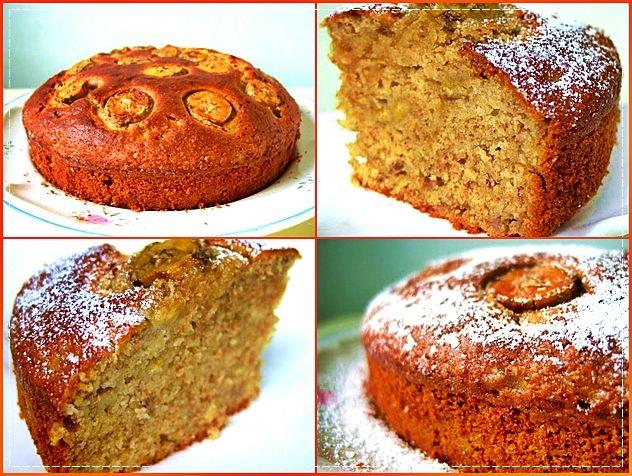 Yapımı son derece kolay bir kek olan Muzlu Kek, bir o kadar da lezizdir. Bu tarifin öne çıkan özelliği ise normal unu ve tam buğday ununu birlikte içermesi.