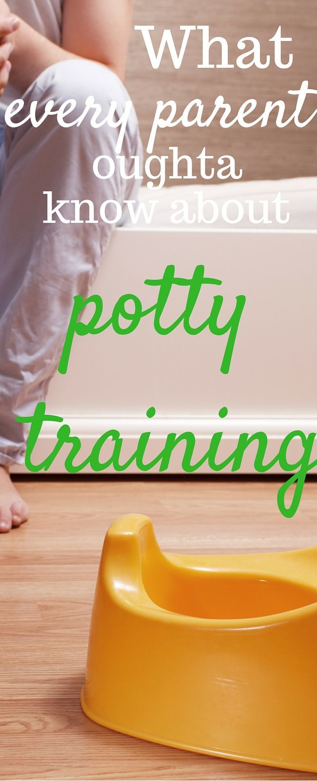 This is the secret that will keep you from going crazy when potty training your child.