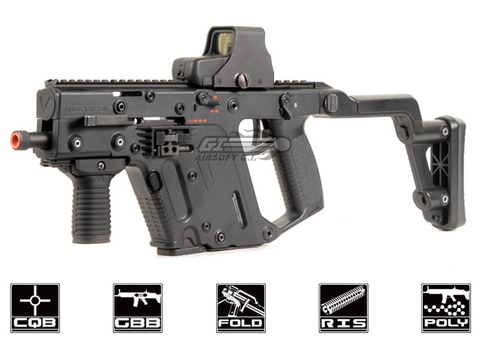 Arrgh! At this price, I might as well save up for the real thing. KWA KRISS Vector #Airsoft