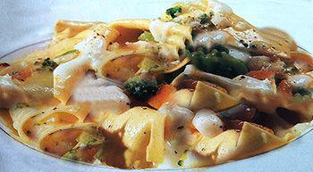 Paccheri zucca baccalà broccoli , un piatto salutare ricco di vitamine e non solo, gustoso e pronto in meno di 1 ora, da gustare con un buon vino bianco