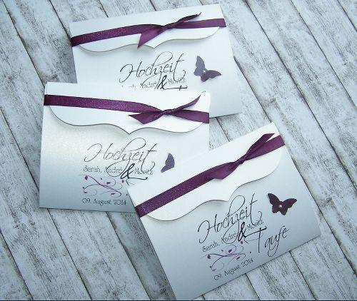 Schön Einladung Hochzeit U0026 Taufe Bogenkarte Klein   Brombeere   Stk. 2,95 U20ac Www