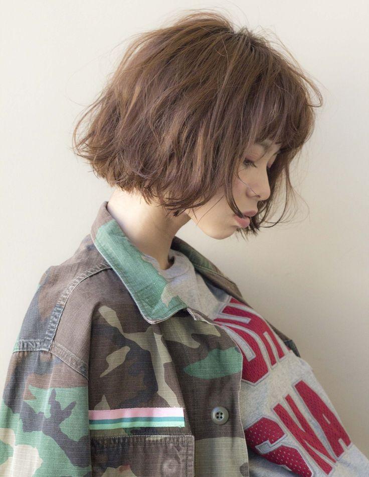 無造作ウェットボブ EN187 | ヘアカタログ・髪型・ヘアスタイル|AFLOAT(アフロート)表参道・銀座・名古屋の美容室・美容院