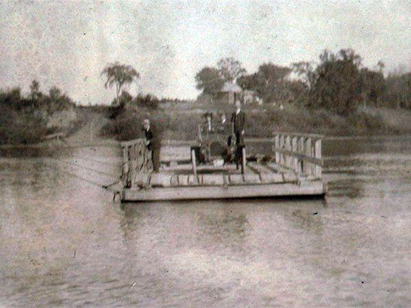 Historic Sites of Manitoba: Treesbank Ferry Monument (Municipality of Glenboro-South Cypress)