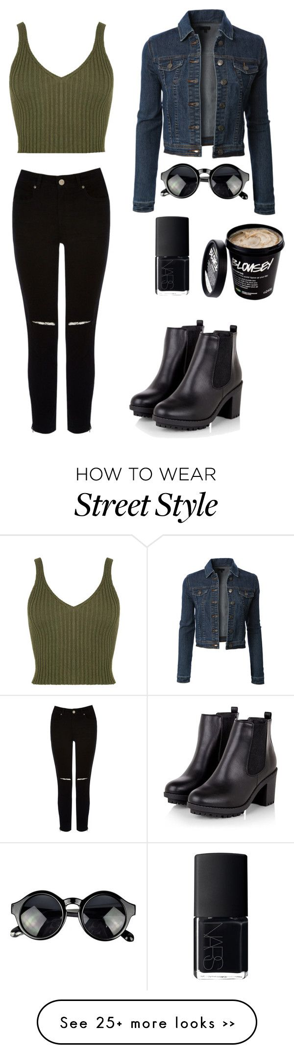 """""""Street style"""" by soburns00 on Polyvore featuring Oasis, NARS Cosmetics and LE3NO"""