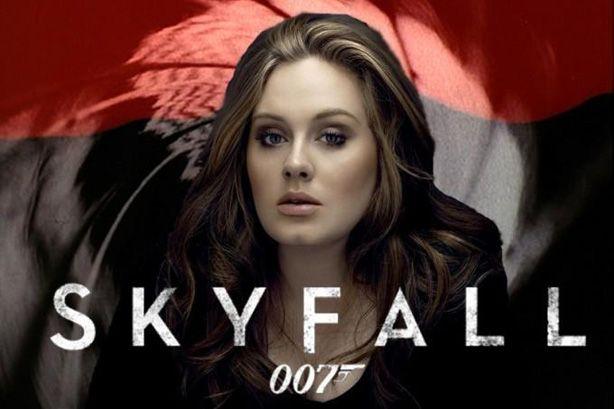 Adele Skyfall Song