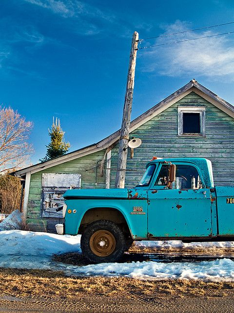 .Baby Blue, Backroads, Old Pickup Trucks, Back Roads, Ranch House, Dodge Trucks, Old Trucks, Pick Up, Country