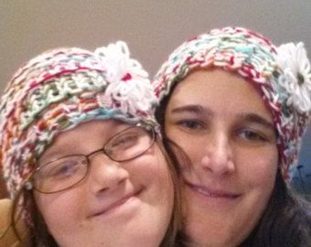 Matching Slouchy Hats by FabNGrab on Etsy