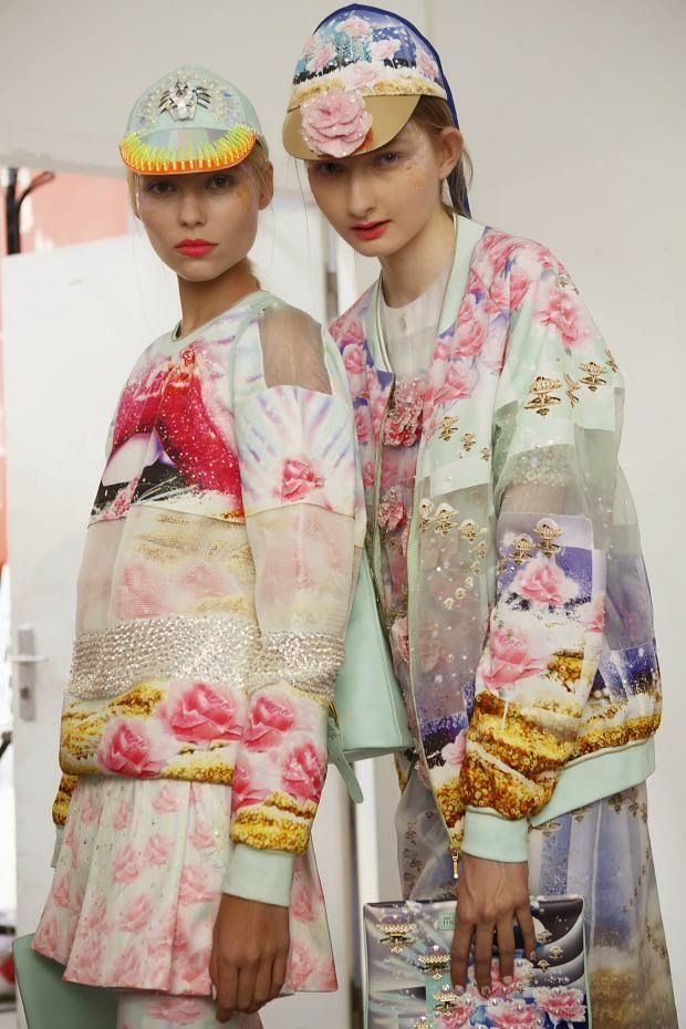 Cool Chic Style Fashion: Runway | Avante Garde: Manish Arora Spring 2015 Ready-to-Wear Paris fashion week #PFW