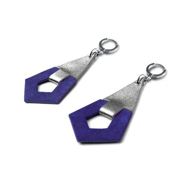 Ruby - leather - earrings - bijou - cuir - CAMILLE - ROUSSEL.jpg