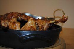 Pečená kachna sčerveným zelím
