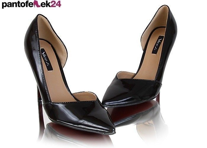Czarne szpilki / Black heels / 78 PLN #heels #black #obcasy #buty #elegant