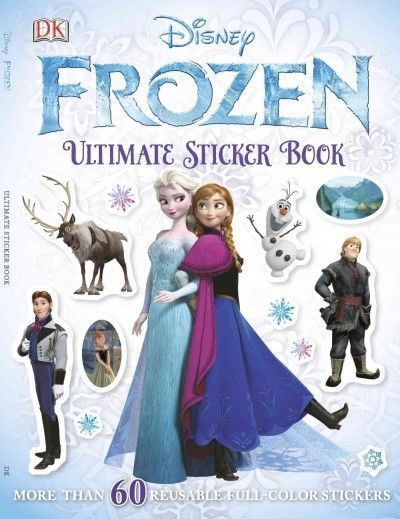 ULTIMATE DISNEY STICKER BOOK ~ FROZEN ~ FREE SHIPPING
