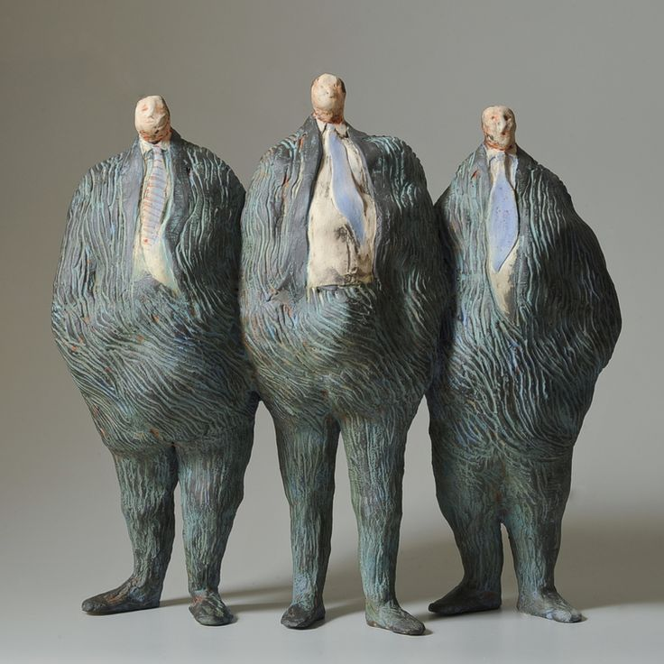 JAN HOWLIN CERAMICS - The Boys
