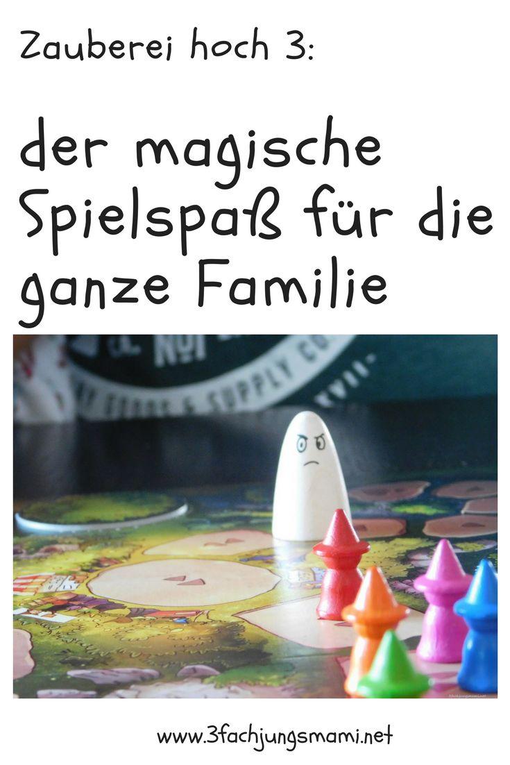 Spielspaß für die Familie ist hier garantiert - der magische Spielspaß von Pegasus