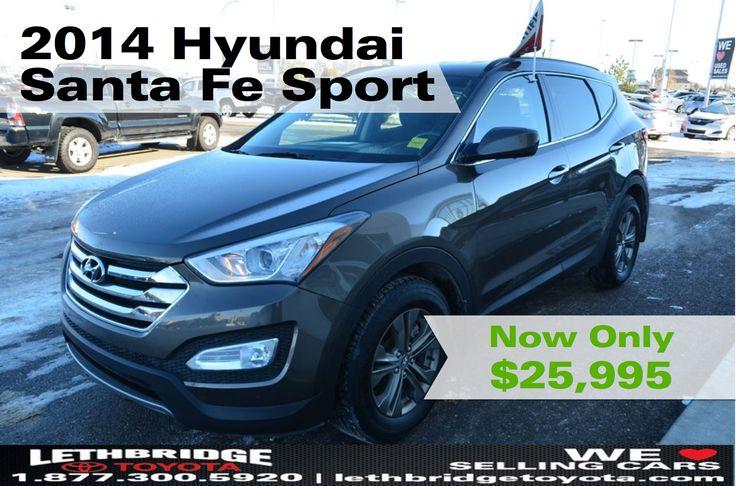 Used 2014 Hyundai Santa Fe   Lethbridge Toyota   Used Car Dealerships Lethbridge