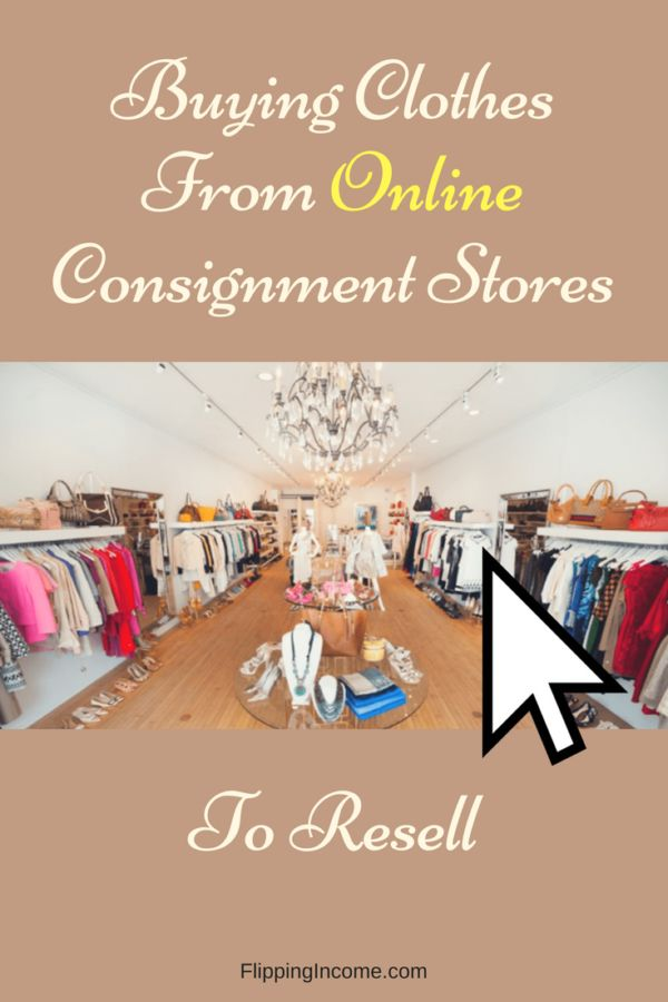 Since we already know that it's possible to find new clothes with tags for sale within thrift stores, at garage/yard sales and also in boxes at flea markets – it's hard to picture why most people skip over consignment stores.  These days browsing consignment stores can be done with mouth clicks online and it is definitely something that you should not ignore.  Online consignment stores are fantastic and great for finding new clothes to resell!