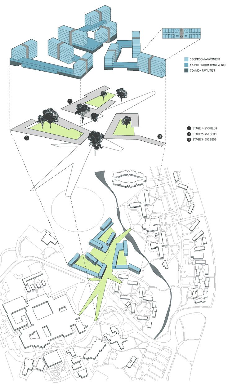University of Newcastle Student Housing Masterplan
