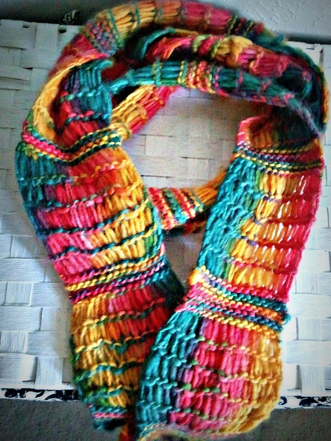 Free Pattern: Mile-a-Minute Scarf #1