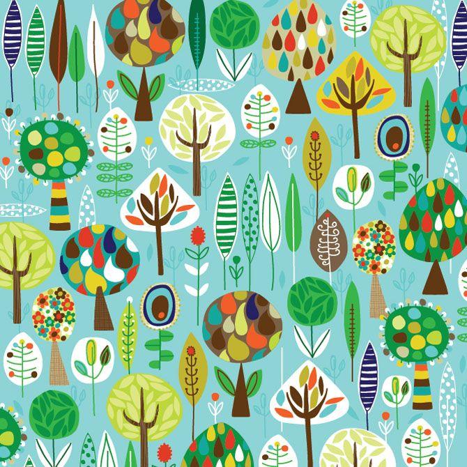 árboles, muchos árboles!