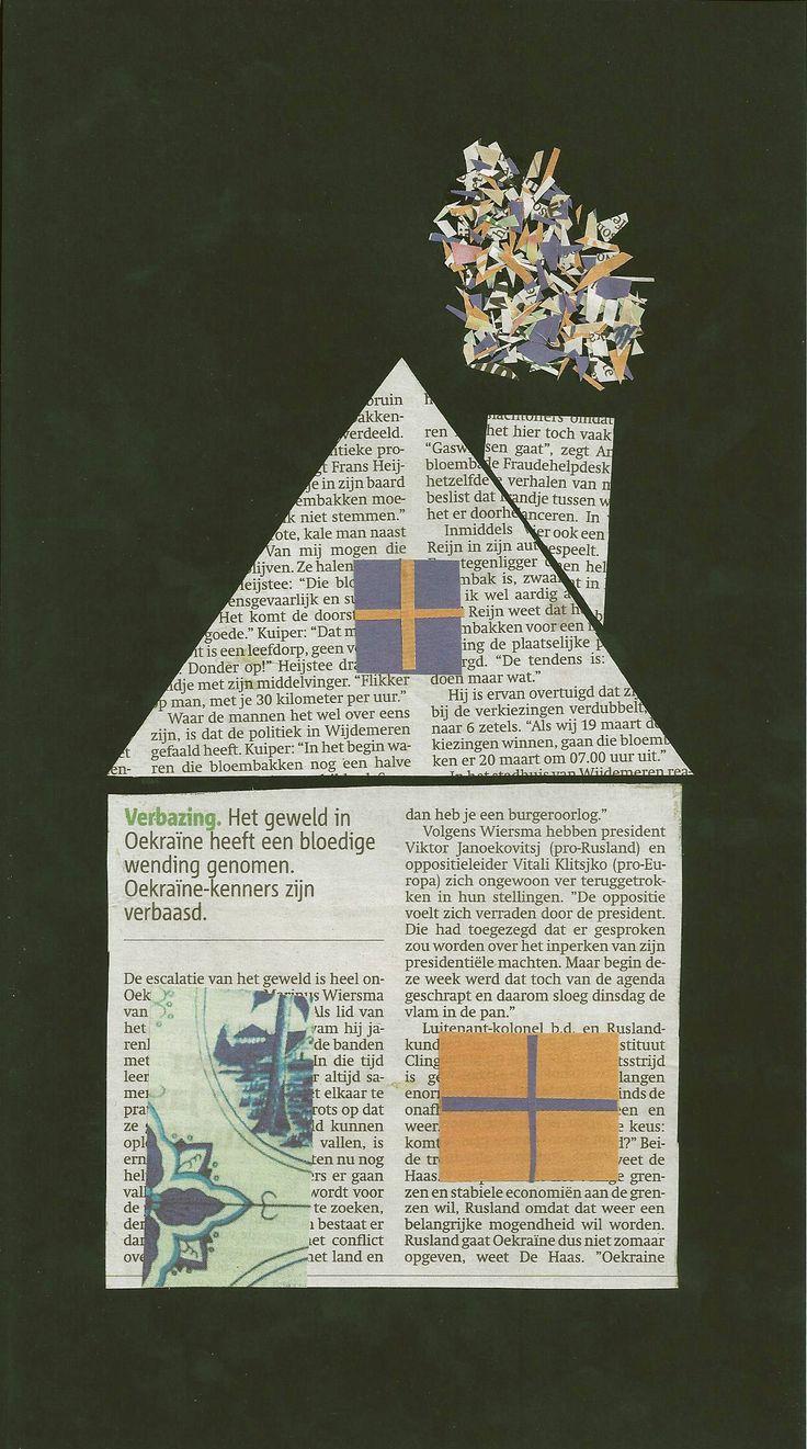 Kunst met kranten