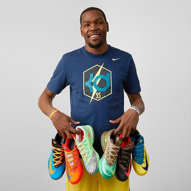 Kevin Durant Previews Nike KD VI Colorways
