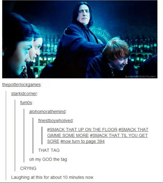 Snape rules.--Harry Potter humor