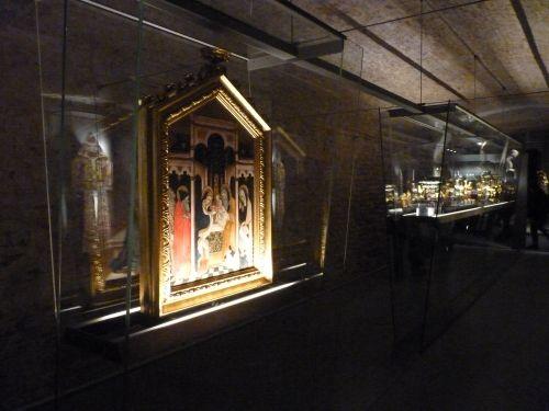Alcune opere del Tesoro del Duomo