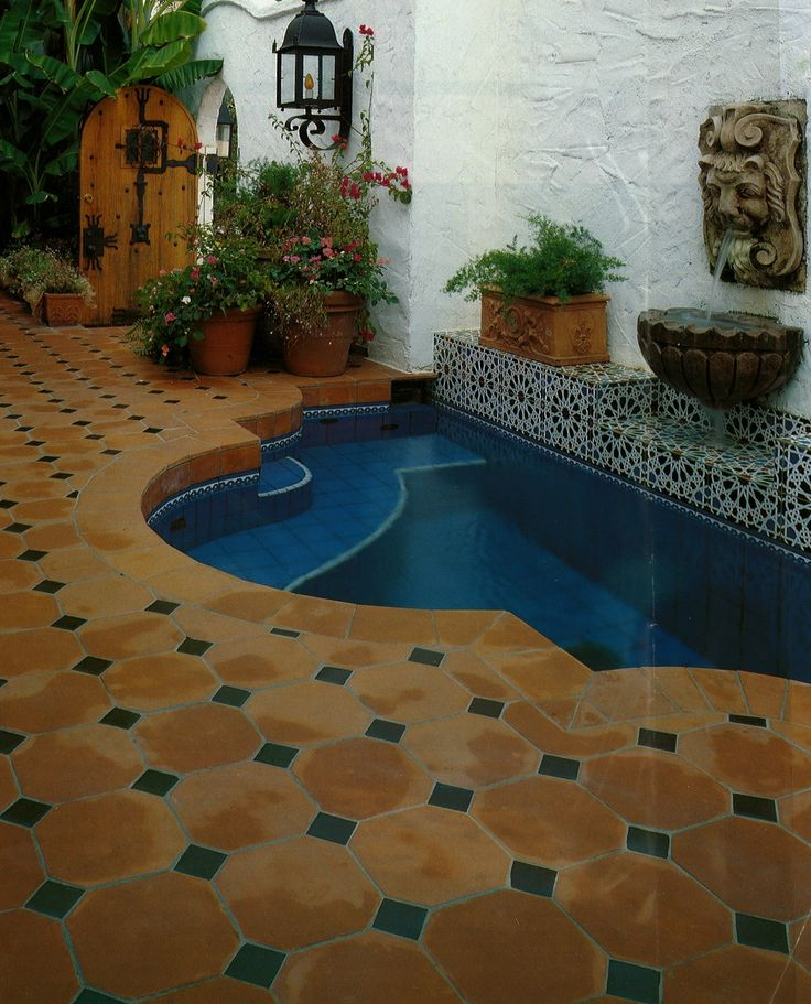 176 best spanish colonial revival remodel images on for Spanish revival tile