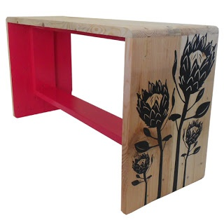 Protea bench - made from recycled pallet wood! | jasper and george