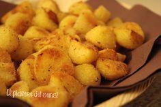 """PATATE SABBIOSE AL FORNO - translate button inside per la ricetta clicca qui -> http://ilnuovopiaceredeisensi.altervista.org/patate-sabbiose-al-forno/ Se ti piace questa ricetta, condividila Emoticon wink ...if you like this recipe, please ✔ Like ✔ """"Share"""" ✔ Comment ✔ Repost ✔Friend/follow Thank You! <3 #patate   #potatoes   #italianstyle   #italianfood   #italia   #buongiorno   #ilpiaceredeisensi  #good"""