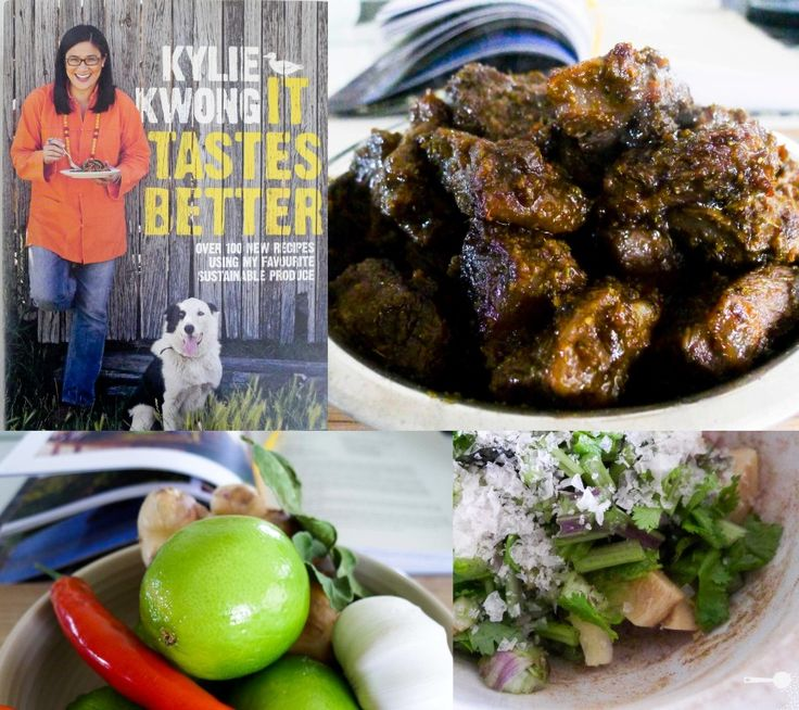 Kylie Kwong's Roast Beef with Asian Paste & Lime, Garlic Cucumber Salad