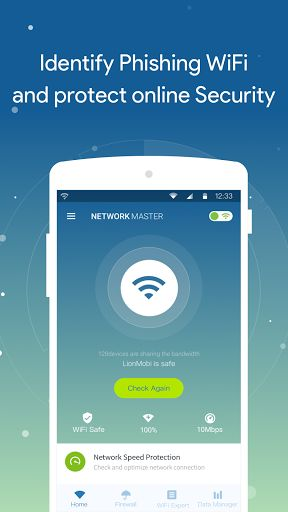Network Master – Speed Test v1.9.13 [Mod Debloated] Requirements: 4.1+ Overview: Network Master is a small, fast and free network tool. You can identify phishing Wi-Fi hotspots to protect your online security, test network speed to find fast WiFi hotspots, detect all devices...