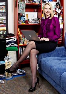 Marissa Mayer: Google's Chic Geek. From IEEE. Girl chic power!