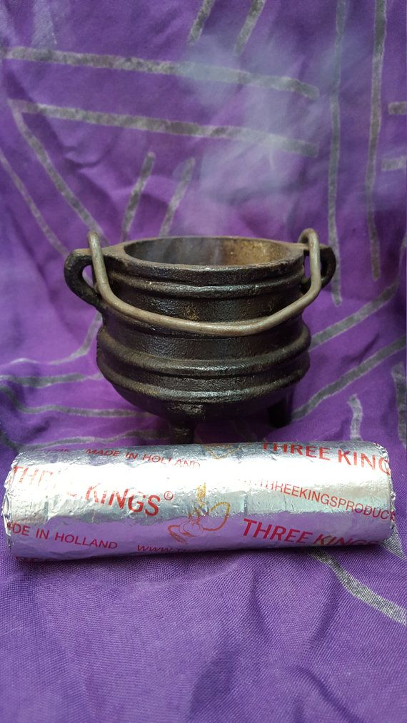 Three Kings 33mm Charcoal Tablet roll. There are 10 charcoal tablets per roll. Please see directions for use below:  Burning Incense/Resin On Smoldering Charcoal:  1. Fill a heat proof incense bowl or censer with at least 2 of sand, or natural ash. This will provided some much needed insulation for your burner. Charcoal can burn at up to 1500 degrees F. 2. Form a cone shape with whatever medium you filled your burner and place the charcoal tablet at the peak. This will allow air to flow ...