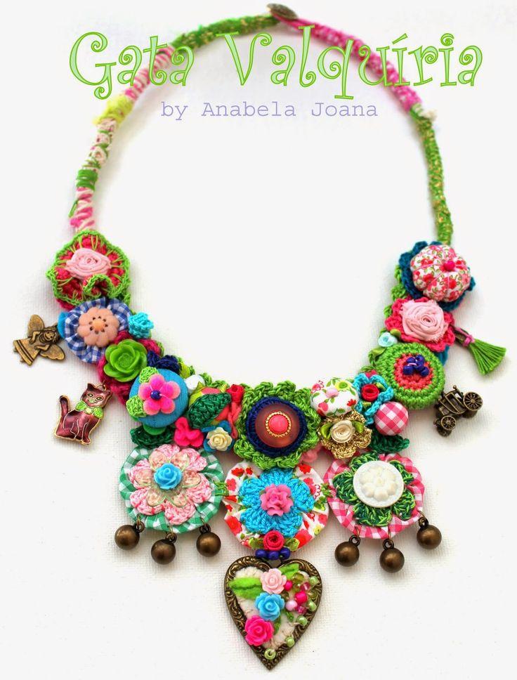 fibre textile jewelry                                                       …